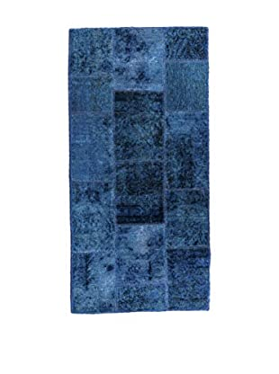 RugSense Alfombra Vintage Persian Collage Azul 142 x 60 cm