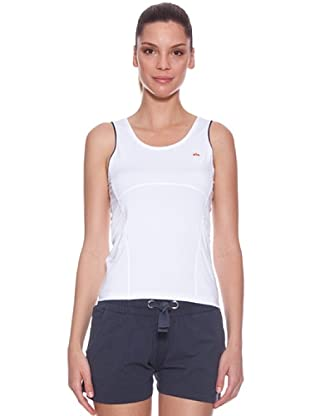 Ellese Camiseta Tenis Tank (Blanco)