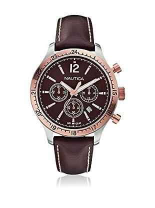 Nautica Reloj con movimiento cuarzo japonés Man Bfd 104 Sport Chrono Classic A17637G  44 millimeters