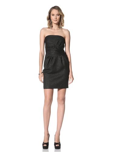 Paul & Joe Women's Blueuet Strapless Dress With Gathered Waist (Black)