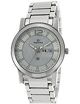Maxima Attivo Analog Silver Dial Men's Watch - 24902CMGI