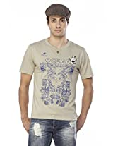 Do U Speak Green? Men's Organic Cotton T-shirt (dusg_222_willow Grey_
