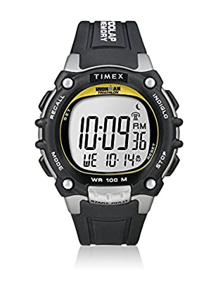 TIMEX Reloj de cuarzo Man Ironman Traditional 100-Lap Negro 44 mm