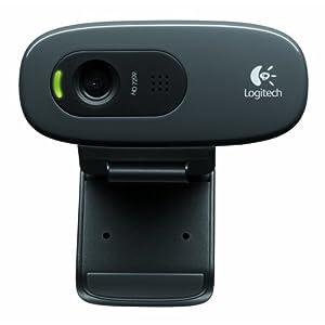 Logitech C270 Webcam-Black