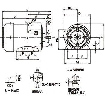jr电机接线图