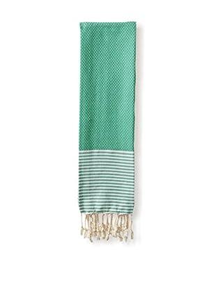 Nine Space Aegean Cotton Hand Towel, Emerald