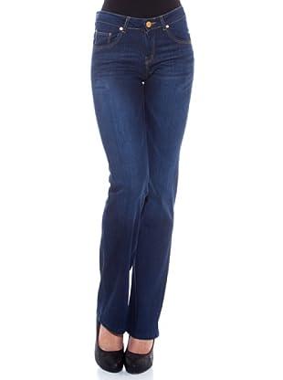 7 Seven LA Pantalón Heidi (Azul Medio)