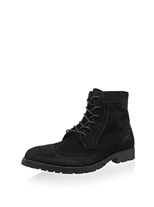 MARC NEW YORK Men's Perry Wingtip Boot (Black Suede)