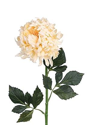 Flor Artificial Crisantemo Crema