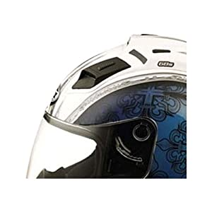 GMAX Front Top Vent Adult GM68 Street Racing Motorcycle Helmet Accessories - One Size