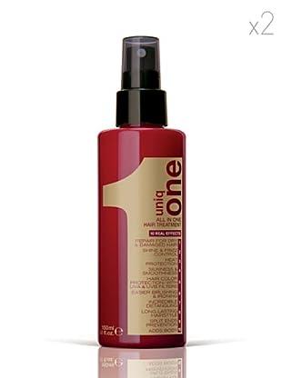 Revlon  Set 2 Uniq Mascarillas One   All In One  Hair Spray sin enjuague 150  ml