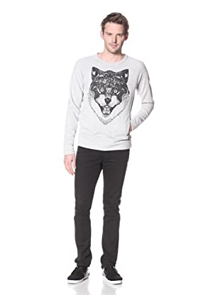 Zanerobe Men's Wolfpack Sweatshirt (Light Grey)