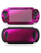 Protective Vinyl Skin Decal Cover for PS Vita PSVITA Playstation Vita Portable Sticker Skins Pink Abstract