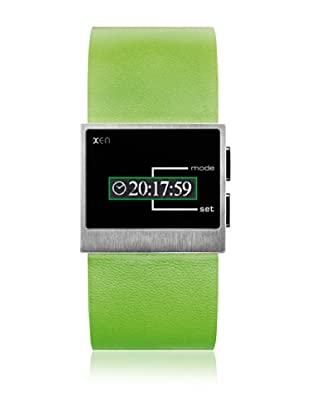 Xen Reloj Unisex Digital XQ0118 Verde 34 mm