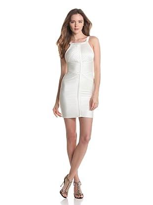 BCBGMaxazria Vestido Ingrid (Blanco)