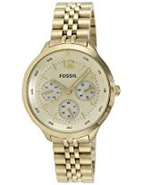 Fossil End-of-Season Analog Gold Dial Women's Watch - ES3240