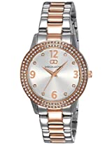 Gio Collection Analog (SILVER) Dial Women's Watch - G2013-55