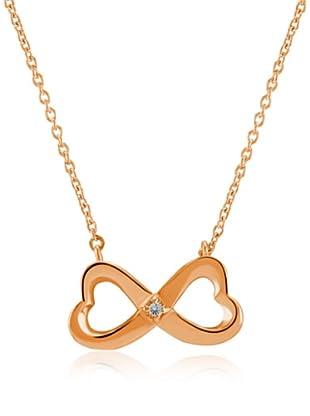 Divas Diamond Collar Diamond Infinity Dorado