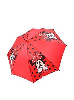 BACK TO SCHOOL Regenschirm Polka Dot rot