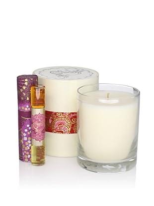Sage 6-Oz. Candle and Dual Eau de Parfum, Garnet\/Amethyst