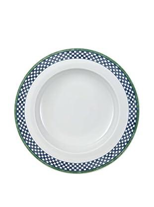 Villeroy & Boch AG Set Plato Hondo 6 Uds. Switch 3 Castell 23 cm Blanco/Azul/Verde