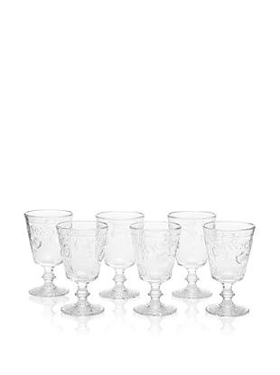 La Rochère Set of 6 Versailles Wine Glasses