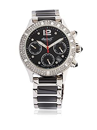 Ingersoll Armbanduhr  schwarz/silber 39 mm