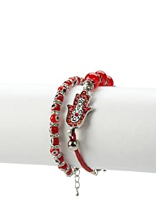 Rolf Bleu Destiny Bracelet Set (Red)