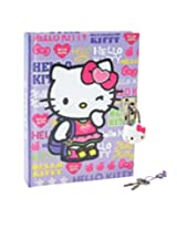 Hello Kitty Girlie Sports Locking #10356 Diary Back to School