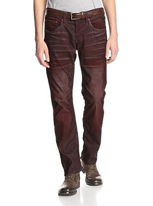 Stitch's Men's Texas 5 Pocket Straight Leg Corduroy Pant (Whiskey)
