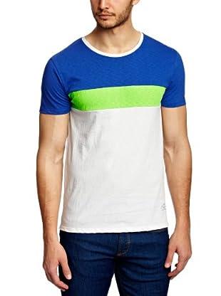 Scotch & Soda Camiseta Norah (Azul / Blanco)