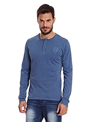 Paul Stragas Camiseta Manga Larga Osceola (Azul Petróleo)