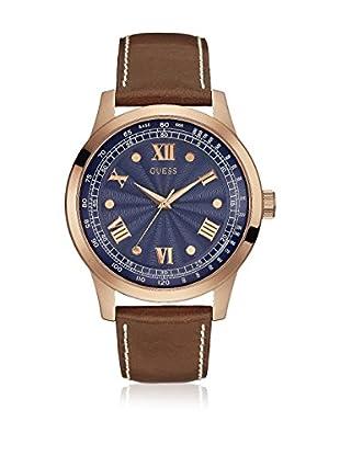 Guess Uhr mit japanischem Mechanikuhrwerk Man Monogram Rose Gold Tone roségold 45 mm