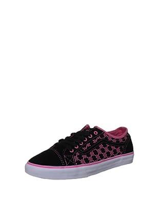 Vans Zapatillas Devan (Negro / Rosa)