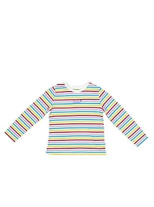 Dudu Camiseta Dafne rayas (blanco)