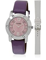 Fl-112-Pr01 Purple/Purple Analog Watch Flud
