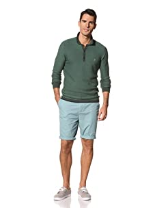 FARAH Men's The Westbourne Long Sleeve Knit (Ivy)