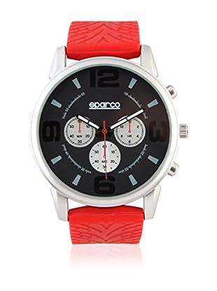 Sparco Reloj Nigel Rojo 42 mm