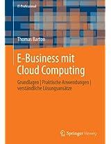 E-Business mit Cloud Computing: Grundlagen | Praktische Anwendungen | verständliche Lösungsansätze (IT-Professional)