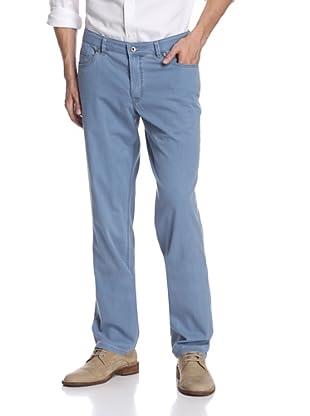 Hiltl Men's 5 Pocket Pant (Blue)