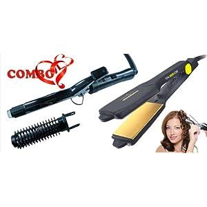 Combo of Nova Hair Curling Iron with Nova Hair Strengthener