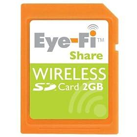Eye-Fi Share SD型ワイヤレスメモリカード)