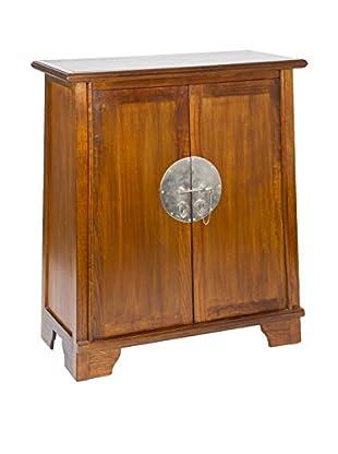 Colonial Style Flaschenregal/Flaschengestell Zen braun