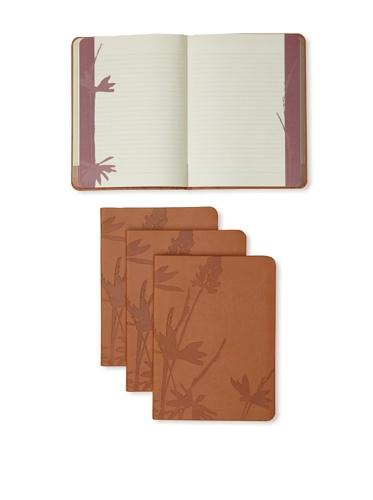 Mudlark Set of 4 Artifact Collection Journals (Tan)