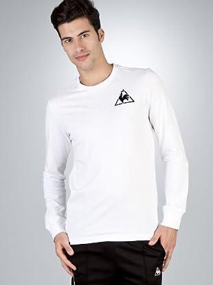 Le Coq Camiseta Bordado (Blanco)