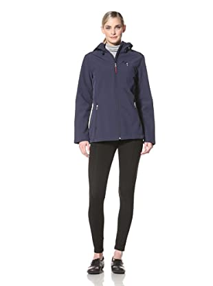 Tommy Hilfiger Women's Roni Jacket with Hood (Navy)