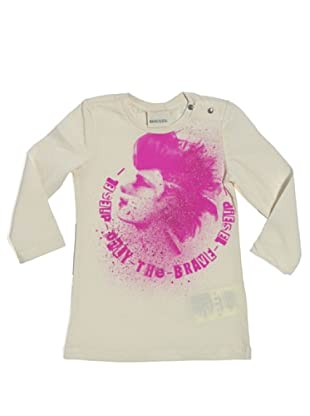 Diesel Kid T-Shirt Baby Tiniteb (Weiß)