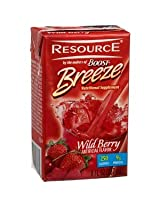 Boost Breeze Wild Berry 8-Ounce Boxes (Pack of 27) ***2- CASE SPECIAL***