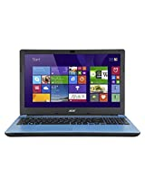 Acer AS E5-571 15.6-inch Laptop (Blue) with Laptop Bag