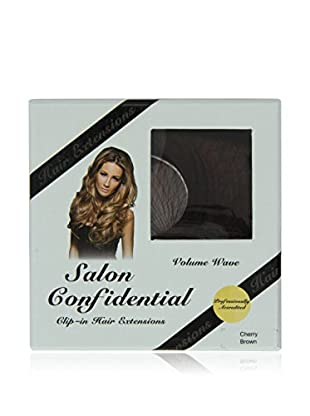 Salon Confidential Volume Wave Clip-In Hair Extensions Cherry Brown